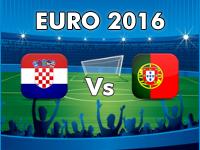 Croatia v Portugal Euro 2016