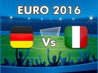 Germany v Italy Euro 2016
