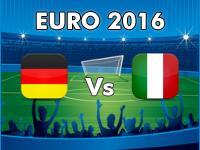 Germany v Italy Euro 2016