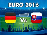 Germany v Slovakia Euro 2016
