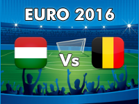 Hungary v Belgium Euro 2016