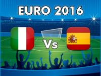 Italy v Spain Euro 2016