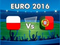 Poland v Portugal Euro 2016