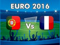 Portugal v France Euro 2016