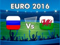 Russia v Wales Euro 2016