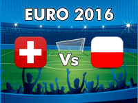 Switzerland v Poland Euro 2016