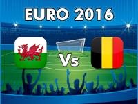 Wales v Belgium Euro 2016