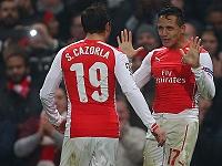 Cazorla - Sanchez (Arsenal)