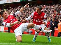Giroud - Walcott (Arsenal)