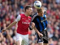 Laurent Koscielny (Arsenal) - Peter Crouch (Stoke)