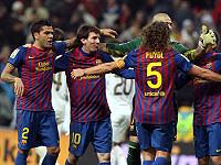 Alves - Messi - Valdes - Puyol (Barcelona)
