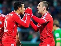 Alcantara - Ribery (Bayern)
