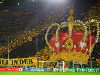 Champions League Krone in Dortmund
