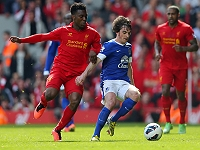 Sturridge (Liverpool) - Baines (Everton)