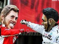Vettel - Hamilton
