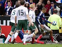 Ireland v France 2009 - Henry