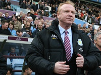 Manager Alex McLeish