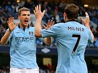 Milner - Dzeko (Manchester City)