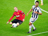 Manchester United - Rooney & Scharner - Albion