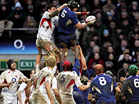 Rugby England - France