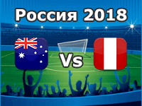 Australia v Peru- World Cup 2018