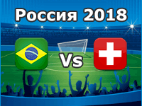 Brazil v Switzerland- World Cup 2018