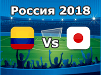 Colombia v Japan- World Cup 2018