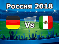 Germany v Mexico- World Cup 2018