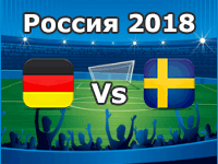 Germany v Sweden- World Cup 2018
