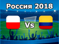 Poland v Colombia- World Cup 2018