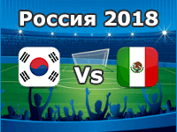 Mexico v South Korea- World Cup 2018