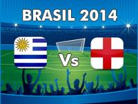 England v Uruguay